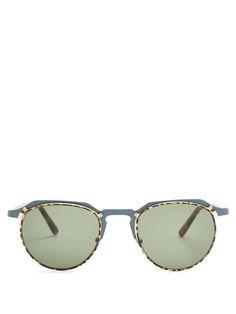 9e82a2eeea3 L.G.R Scorpio Two-Tone Metal Sunglasses.  l.g.r  sunglasses