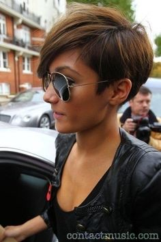 SHAVED SIDES..Another popular look is shaved sides. This look is edgy and exciting!