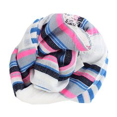 #LEMLEM - Lilly Split Loop Scarf Lemlem, Loop Scarf, Womens Scarves, Overalls, Winter Hats, Sweaters, Cotton, Blue, Layering