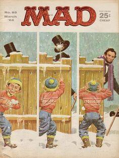 Mad Magazine No. 85, March 1964 - cover