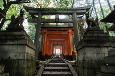 Take a walk under the vermilion torii of Fushimi Inari Shrine - See more at: http://holidaybays.com/lets-go-shrine-hopping-5-famous-shinto-shrines-in-japan-you-must-visit/#sthash.qmLsSW3R.dpuf - Let's Go Shrine Hopping! 5 Famous Shinto Shrines in Japan You Must Visit