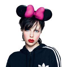 Oh Mundo Cruel! » Minnie Mouse para el quinto aniversario de la revista LOVE