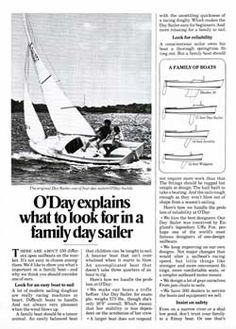 13 Best O'Day Sailboats images in 2017 | Sailing Ships, Boating, Candle