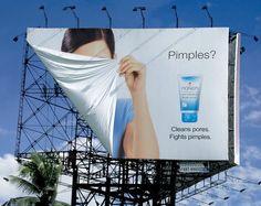 No te volverás a esconder por tener espinillas... #Pimples #Ads #Publicidad #Exterior
