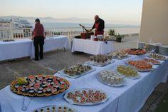eventos cocktails solarium hotel vistas de Málaga