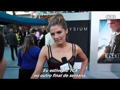 "CNC World: Stana Katic @ ""Elysium"" premiere - Aug. 7, 2013 (legendado)"