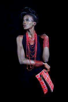 African Prints in Fashion: Trending Right Now: Maasai Prints /Tartan/Plaid
