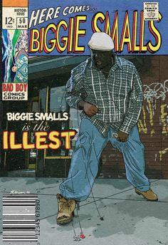 Arte Do Hip Hop, Hip Hop Art, Techno Style, Tupac And Biggie, Comic Book Printing, Style Hip Hop, Hip Hop Classics, Rap Wallpaper, Biggie Smalls