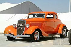 1934 Ford 5 window coupe - Classic Hot Rod