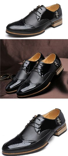 В наличии! Новые мужские кожаные ботинки. Итальянская обувь для мужчин. http://ali.pub/k8zwp In stock new men leather shoes italian shoes for men all black dress shoes genuine leather business shoes.