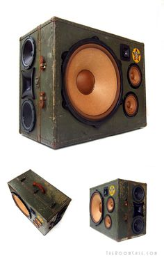 Once a suitcase, now a boombox.