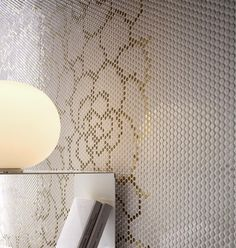 wall tiles paillettes decoro camelia - Lea Ceramiche. Коллекция Paillettes decoro camelia.