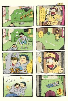 【漫画】『次男といっしょ』(おそ松さん)