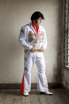Your source for Elvis Jumpsuit Patterns, Nailheads, Rhinestones and Templates including the Aloha Jumpsuit and Pinwheel Jumpsuit. Elvis Costume, Jumpsuit Pattern, Rock And Roll, Rhinestones, Jumpsuits, Capri Pants, Singer, Costumes, Building