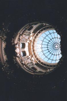Glass canopy, glass eye to the sky