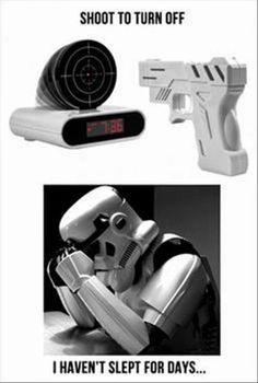 Star Wars - Storm Trooper aiming problem