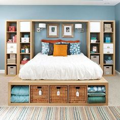 5 Ways to bedroom storage - Architecture, interior design, outdoors design, DIY, crafts - Architecture Design DIY