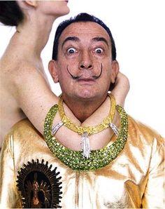 Salvador Dali by Richard Avedon