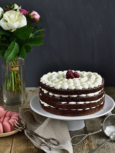 Naha, No Bake Cake, Cake Recipes, Strawberry, Food And Drink, Sweets, Baking, Desserts, Blog