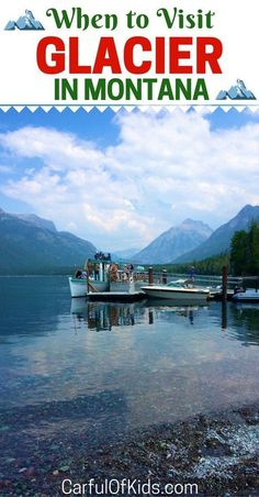 When should your family visit Glacier National Park? Packed with pristine mountain vistas, historic lodges and scenic boat rides, Glacier offers lots of family fun. Find all you need for your trip here. Glacier National Park Camping, Glacier National Park Montana, Glacier Np, Glacier Park Lodge, Glacier Montana, Las Vegas, Angeles, Us National Parks, By Train