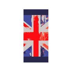 Serviette drap de #plage Union Jack