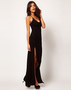 Enlarge ASOS Maxi Dress With Sexy Thigh Split $22.37