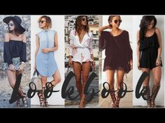 How To Style Gladiator Sandals - 2017 Spring and Summer Fashion Trends