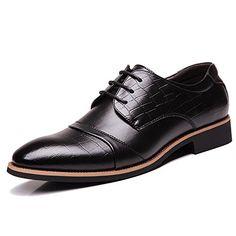 [$36.54 save 15%] Amazon #DealOfTheDay: OUOUVALLEY Men's Dress Oxfords Leather Tuxedo Shoes0518 http://www.lavahotdeals.com/ca/cheap/amazon-dealoftheday-ououvalley-mens-dress-oxfords-leather-tuxedo/205203?utm_source=pinterest&utm_medium=rss&utm_campaign=at_lavahotdeals