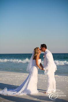 beach wedding in destin