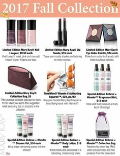 New Fall Products!! Order yours at www.marykay.com/tlete