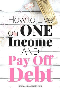 How a simple one income family budget helped pay off almost 20000 in debt in less than one year If you are overwhelmed by debt and are trying to live on one income learn. Debt Free Living, Living On A Budget, Family Budget, Frugal Living, Simple Living, Mon Budget, Budget Help, Tight Budget, Pay Debt