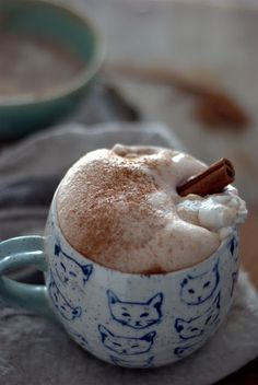 Coconut- Almond Milk Spiced Hot Chocolate