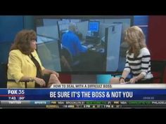Dr. Mimi Speaks on Working for Difficult Boss on Fox 35 News