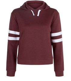 Teens. Try this stripe sleeve hoodie for casual comfort and style this season…