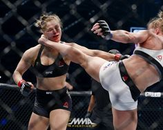Photo via: mmafighting.com WOW!!! What a fight Between Ronda Rousey and Holly Holm I'm sure just about everybody was as shocked as I ...