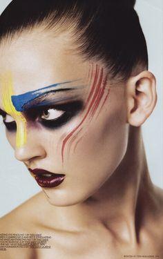 The Best High Fashion Makeup - buzznet