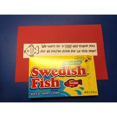 Parent volunteer gift and card signed by each student in class.