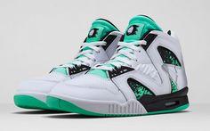 Nike Air Tech Challenge Hybrid 'White/Green Glow-Wolf Grey-Ice' – Release Date + Info