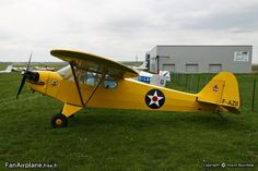 Piper (previously Taylor) J-2 Cub - F-AZII.Aerodrome d'Amiens - Glisy - LFAY.05.05.2013.Reconnaissance,artillery spotter,light liasion.