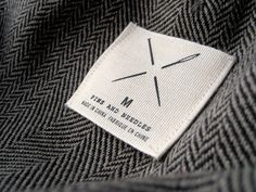 Pins and Needles label. Nice and simple. Just like it should be. By Dan Gneiding