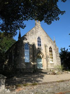 self catering converted church isle of arran - home