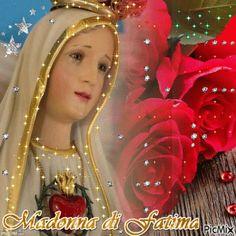 Virgin Mary Madonna Di Fatima GIF - VirginMary MadonnaDiFatima Rose - Discover & Share GIFs