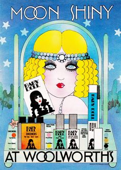 Retro glam looks of the past are back in a big way-and not just on runway supermodels. Vintage Makeup Ads, Retro Makeup, Vintage Ads, Vintage Posters, Vintage Beauty, Vintage Style, 1960s Style, Vintage Paper, Vintage Signs