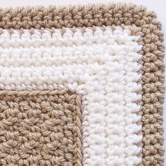 (4) Name: 'Crocheting : Crochet Rectangle Rug