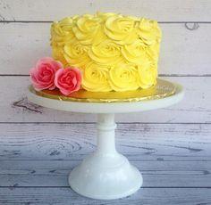 6 Birthday Cake Girls, Birthday Cakes, Cheesecake Tarts, Rosette Cake, Celebration Cakes, Beautiful Cakes, Cake Pops, Candies, Cake Decorating