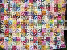 A wonderful example of Corn and Beans by Quilting Board member!