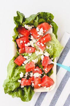 Easy Watermelon and Feta Summer Salad
