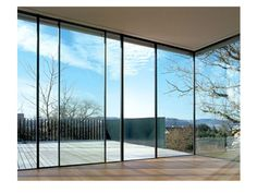 Sky-Frame is a Swiss made unique system for large-surface sliding windows whose surrounding frame can be installed flush with walls, ceilings and floors – the…