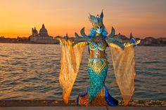 Carnivale mask & costume ~ 21579 - ID: 12821209 © Jim Zuckerman Carnival Date, Venice Carnival Costumes, Carnival Masks, Venetian Masquerade, Venetian Masks, Anastasia, Masquerade Costumes, Royal Court, Carnivals