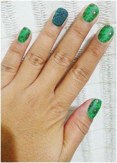 Verde com caviar
